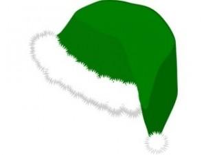 Santa Claus Green hat