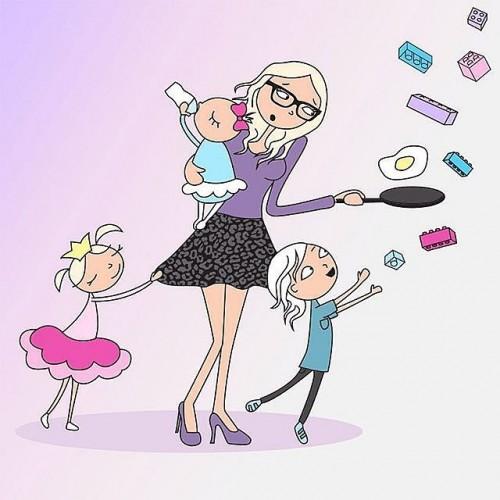 Funny-Illustrations-Pregnancy-Struggles (3)