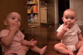 """Το πιο """"γλυκό"""" video: Δίδυμα μοιράζονται τα μαρσμέλοους τους!"""