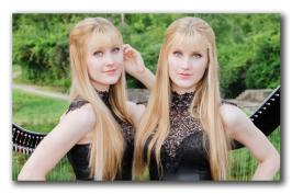 """Το """"Μικρό μου Πόνι"""" όπως δεν το έχετε ξανακούσει! Από τις Harp Twins"""