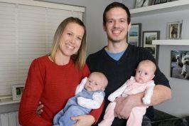 Αφού ξόδεψαν €25.000 σε εξωσωματικές απέκτησαν δίδυμα με παρένθετη μητέρα