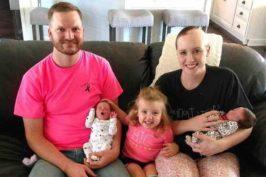 Καρκινοπαθής μαμά καθυστέρησε τη θεραπεία για να σώσει τα αγέννητα δίδυμά της!