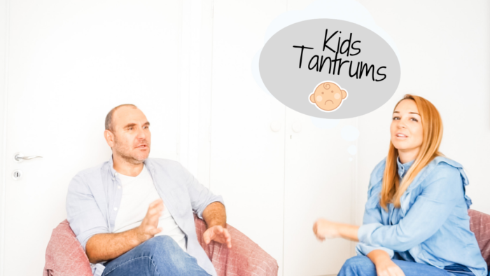 Παιδί σε tantrum