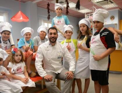 μαθήματα μαγειρικής για παιδιά