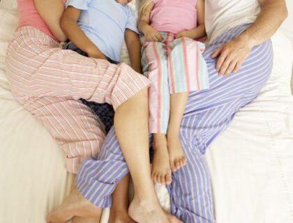 το παιδί κοιμάται μαζί μας