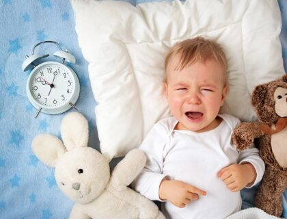 δεν κοιμάται το μωρό